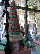 Photo: Macaroons at the flagship Laduree store