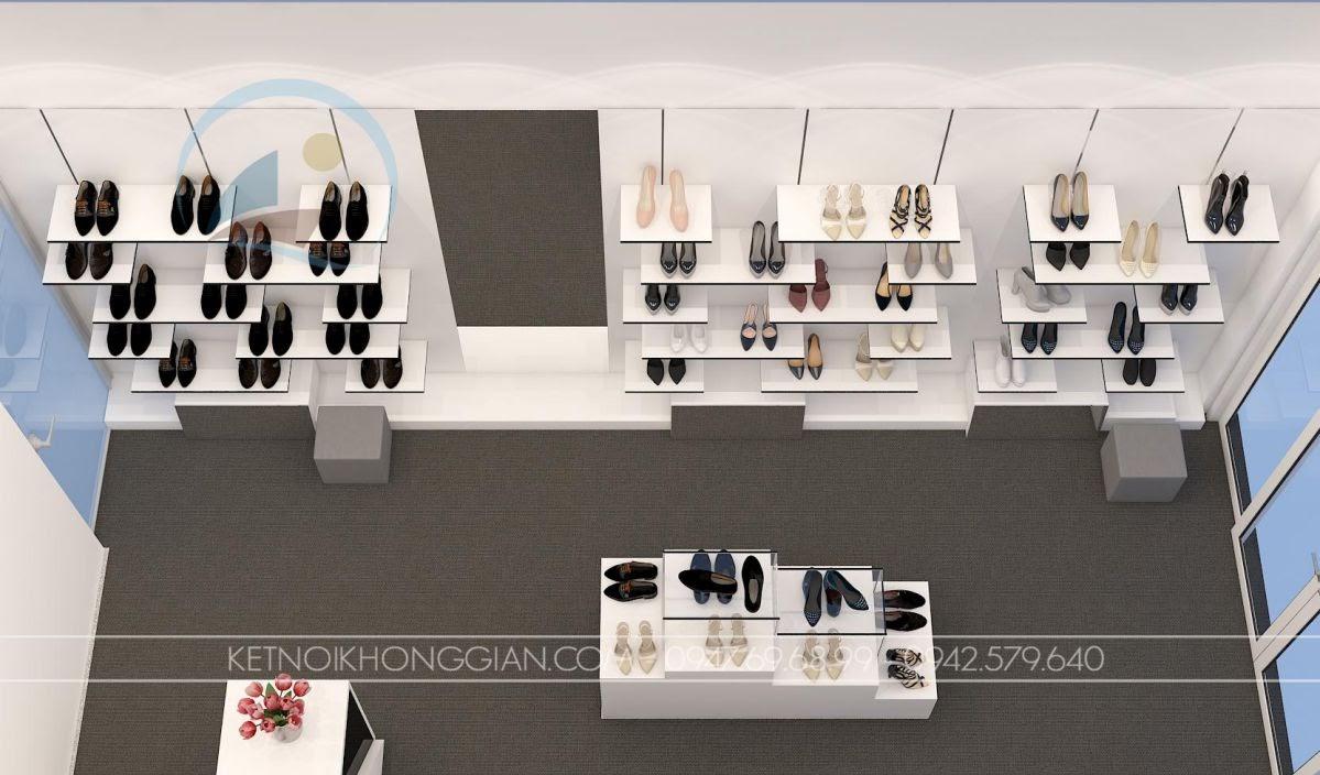 thiết kế shop giày dép Si 6