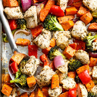 Chicken Breast Sweet Potato Recipes