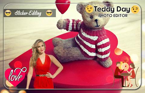 Teddy Day Photo Editor - náhled