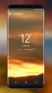 Weather Live Livewallpaper HD - náhled