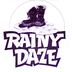 Logo of Rainy Daze Rusty Cage Red