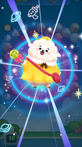 LINE HELLO BT21- Cute bubble-shooting puzzle game! 2.0.1 screenshots 4