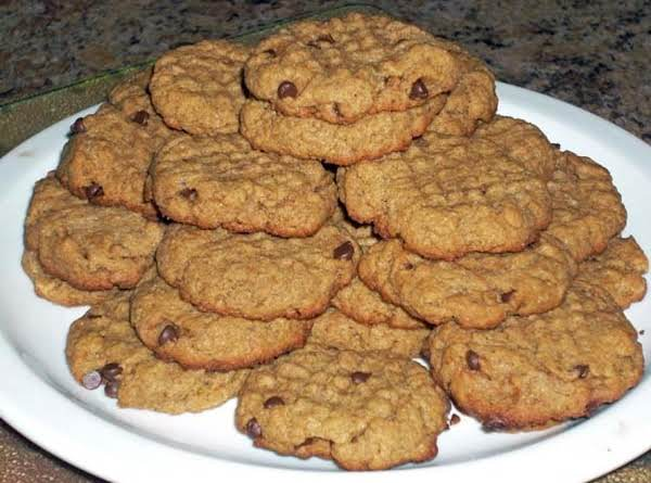 Peanut Butter Chocolate Chip Cookies (gluten And Egg Free) Recipe