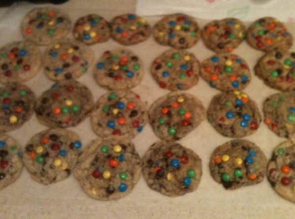Mini M&m Cookies