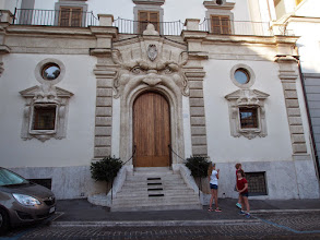 Photo: Nice doorway - we stayed up the street from here on our honeymoon