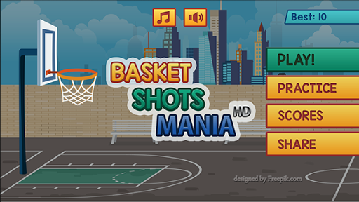 Basketball Shots Mania HD