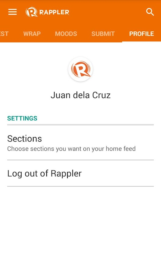 Rappler -  News, social media- screenshot