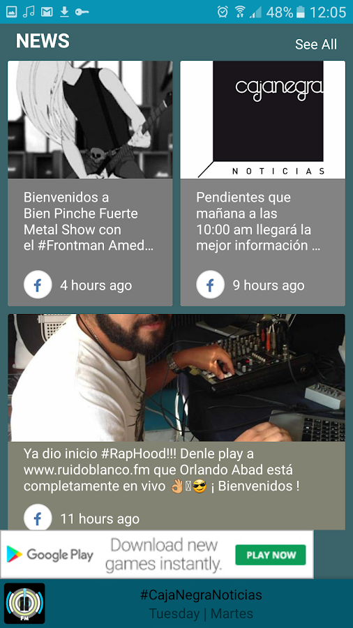 RuidoBlanco.FM- screenshot
