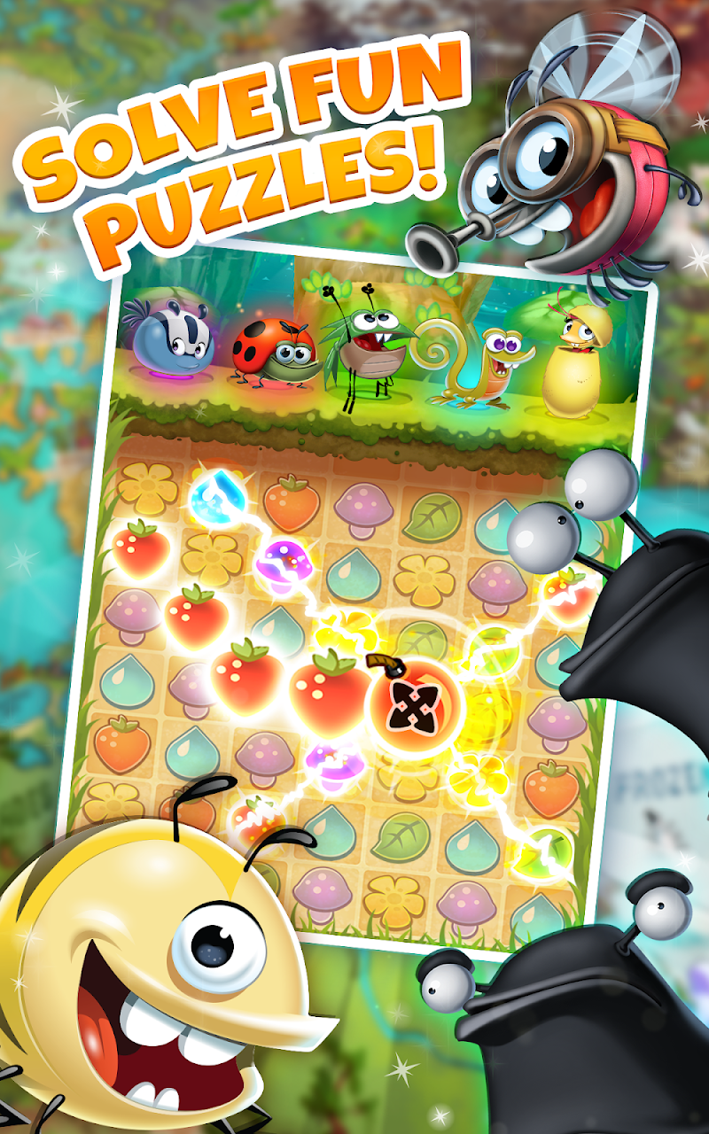 Best Fiends - Free Puzzle Game Screenshot 0