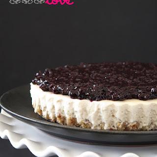Gluten-Free Vegan Blueberry Cheesecake Tart