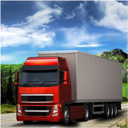 模拟のアメリカン 重たいです トラック シミュレータ LOGO-HotApp4Game