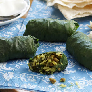 Easy Spinach Dolmades