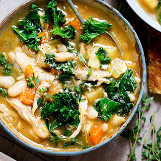 Tuscan Style Chicken Soup.