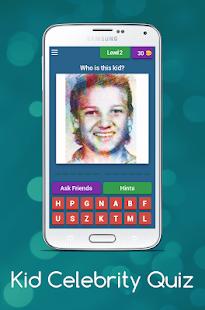 Download Kid Celebrity Quiz For PC Windows and Mac apk screenshot 3