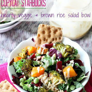 Copycat Starbucks Hearty Veggie & Brown Rice Salad Bowl