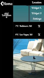 Interiér Hodiny a počasí - náhled