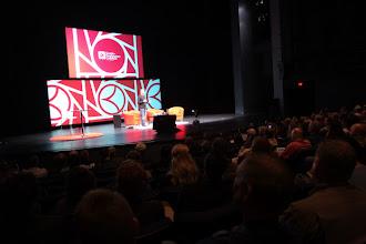 Photo: Google VP Bradley Horowitz during his opening keynote presentation