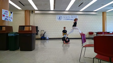 Photo: Rehearsals. Photo by NSCC student Ben Shaffer