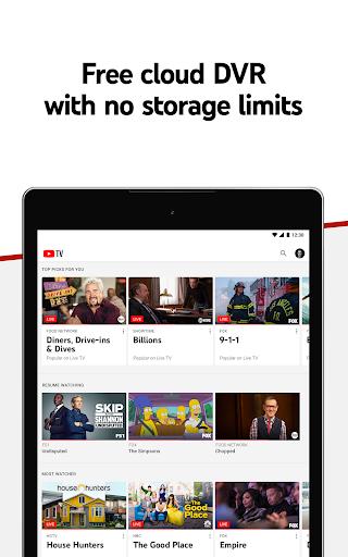 YouTube TV - Watch & Record Live TV screenshots 9