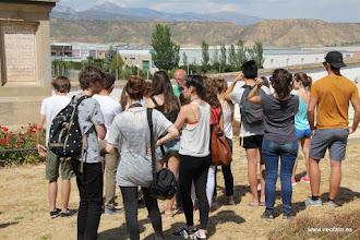Photo: 30.05.2015.- Visita alumnado Lycée René Cassin de Bayona. Monolito Manolín Abad