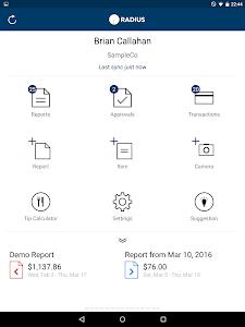 Radius Expenses screenshot 6