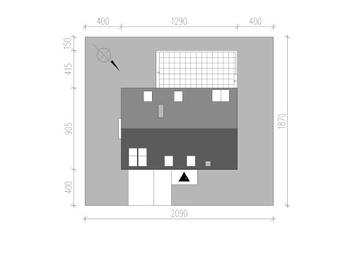 LIM House 04 - Sytuacja