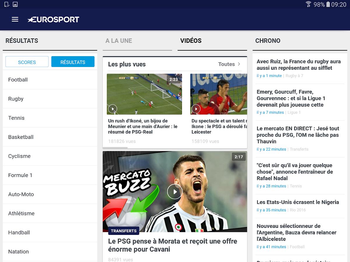 eurosport play