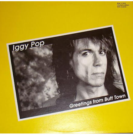 LP - Iggy Pop - Greetings From Butt Town