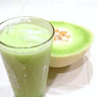 Honeydew Agua Fresca.