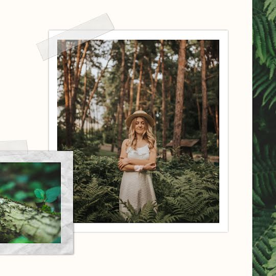 Forest Collage - Instagram Post Template