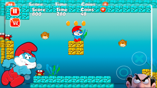 Papa Adventure Smurf Leps World 1.0 screenshots 5