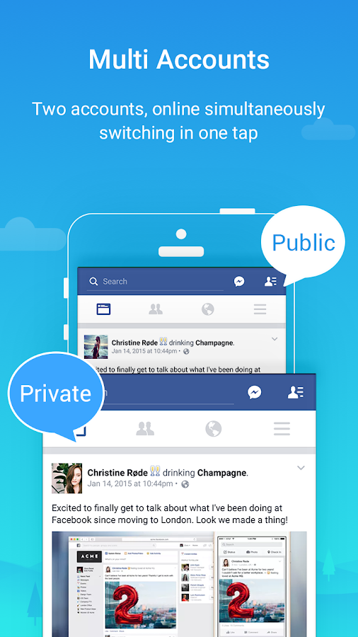 Screenshots of Parallel Space-Multi Accounts for iPhone