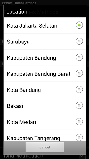 Jadwal Sholat Indonesia - Kiblat, Adzan, Tasbih 1.1.7 screenshots 2