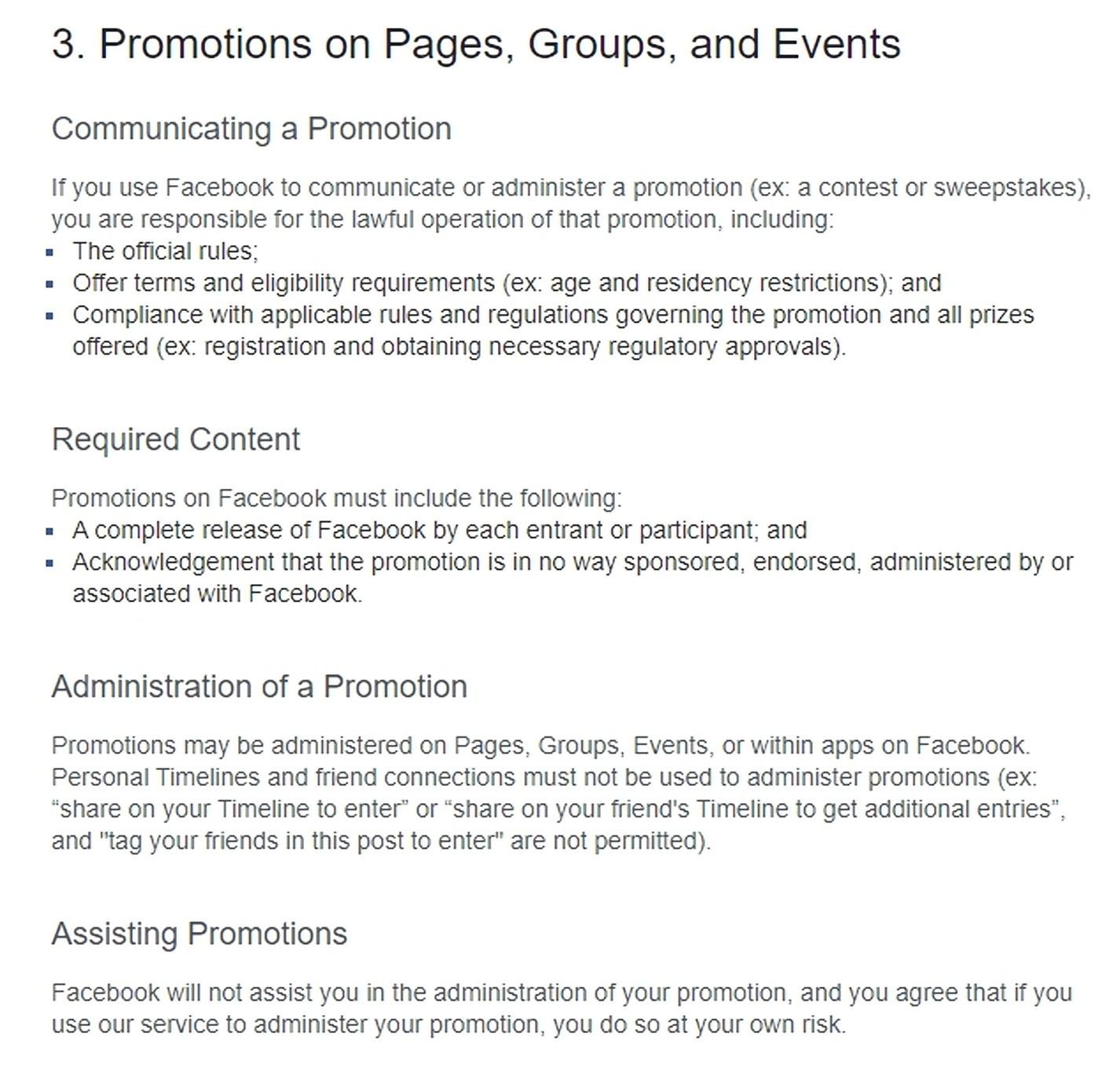 Promotions guidelines 2