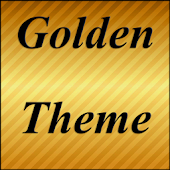 Gold Shine Theme GO Launcher