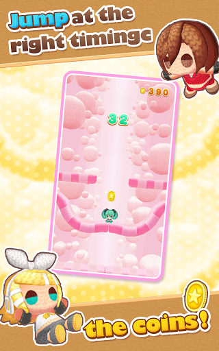 Hatsune Miku Amiguru Jump screenshot 10