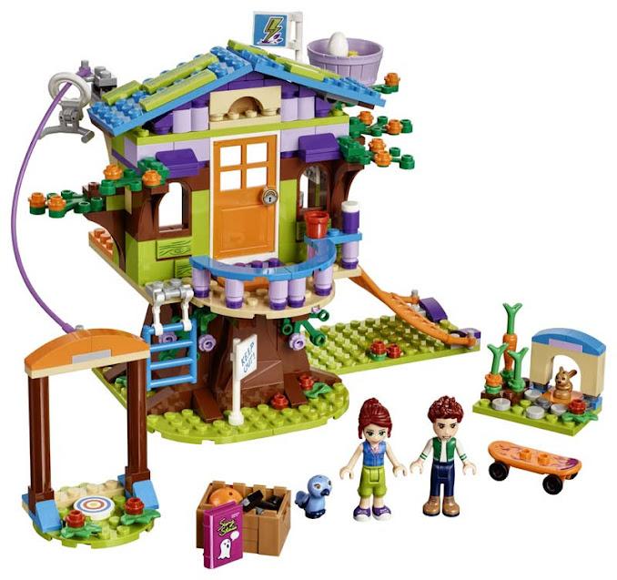 Contenido de Lego® 41335 Casa en el Árbol de Mia