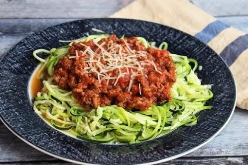 Zoodles (Zucchini Noodles)
