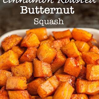 Cinnamon Roasted Butternut Squash