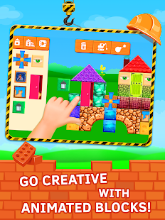 Construction Game Build with bricks - náhled