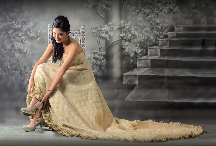Nikki Magadia by Kevin Codamon - Wedding Bride ( models, nikki magadia, codamon, kiven, philippinesm girls, nikon )