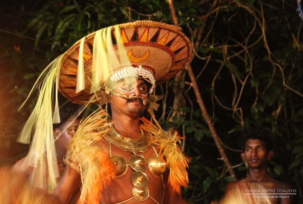 fotografias das danças e artes tribais de Querala