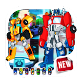New The Transformers Rescue Bots 3D