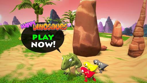 Happy Dinosaurs: Free Dinosaur Game For Kids! apkmr screenshots 12