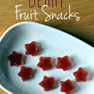Homemade Berry Fruit Snacks