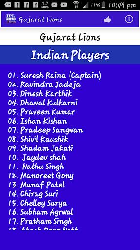 IPL 2018 Schedule 1.5 screenshots 5
