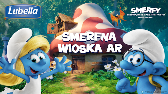 Smerfna Wioska AR screenshot
