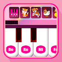 Kids Pink Piano icon