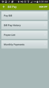 Salal CU - Mobile Banking- screenshot thumbnail
